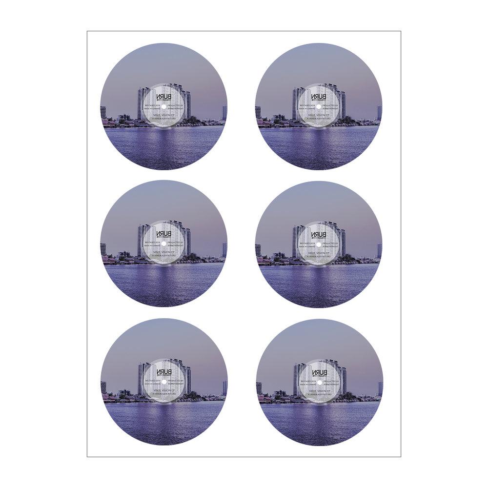 Vinyl Vision Stickers