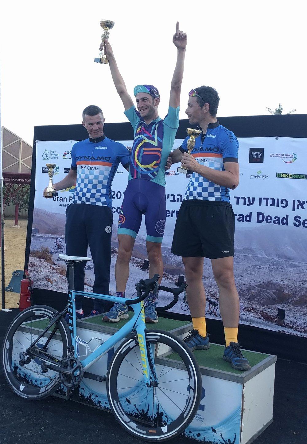 International Athlete Alon L. Winner, 2016 Tour of Arrad, a 3-day International Stage race