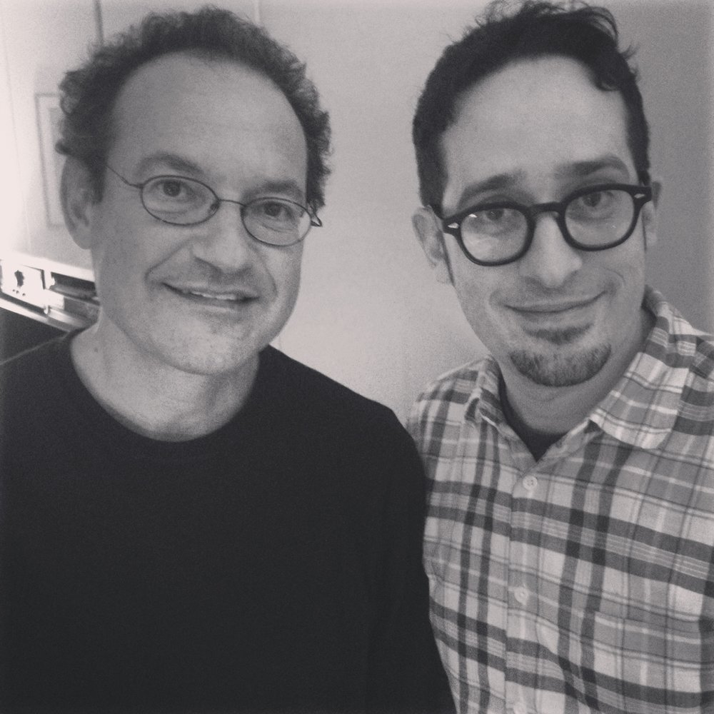 w/ ben goldberg, photo by anjie cho, 2014