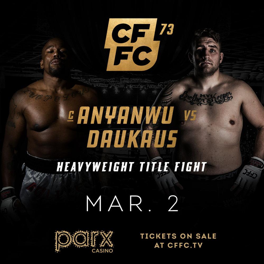 CFFC 73 - Anyanwu vs Daukaus