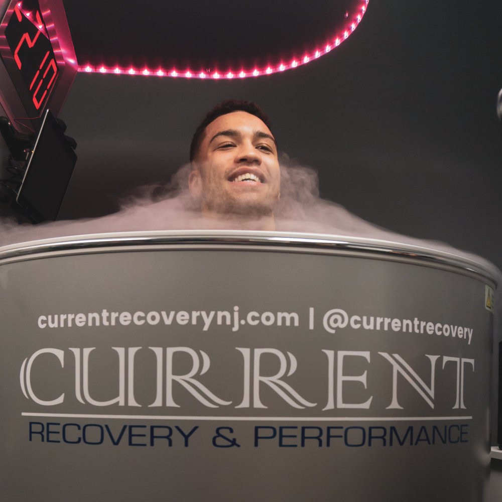 CFFC 71 fighter Paul Capaldo using Cryotherapy at Current Recovery & Performance