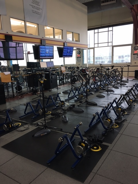 Push yourself and your cycling skills, with our CompuTrainer Group Class at Chelsea Piers.