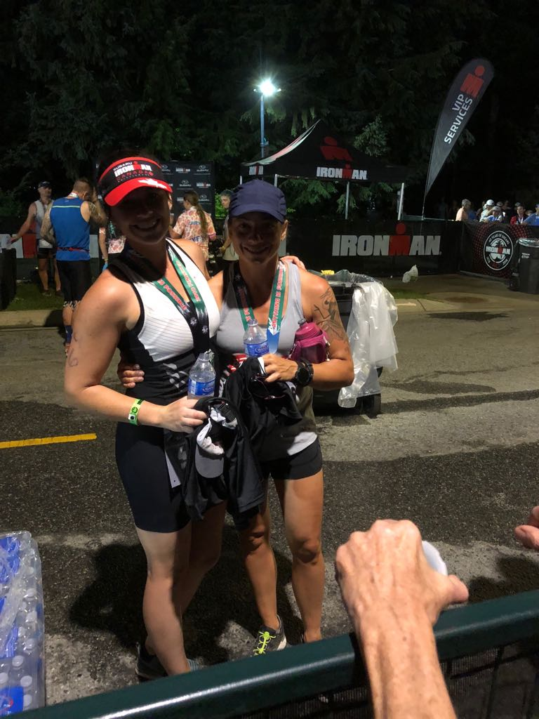 Mel and Jenny's are now officially now Ironman athletes.