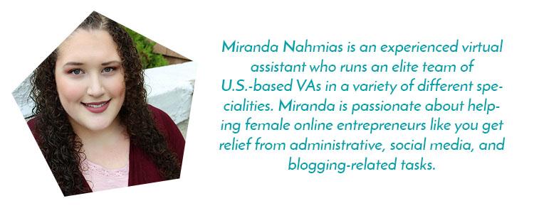 Miranda Nahmias Bio