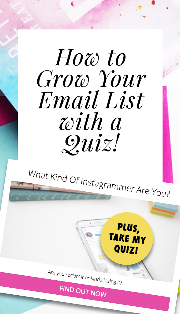 How to Grow Your Email List with a Quiz | Jaimie Myers | Want to generate more leads and more sales for your business? Complete your marketing plan by thinking outside of social media and onto your email list. You can try Interact quizzes now to start growing your email list and getting more subscribers today!