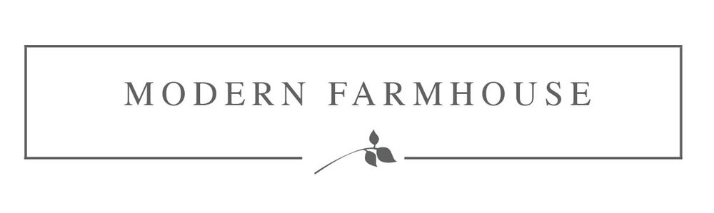 Modern Farmhouse - modern signage washington dc