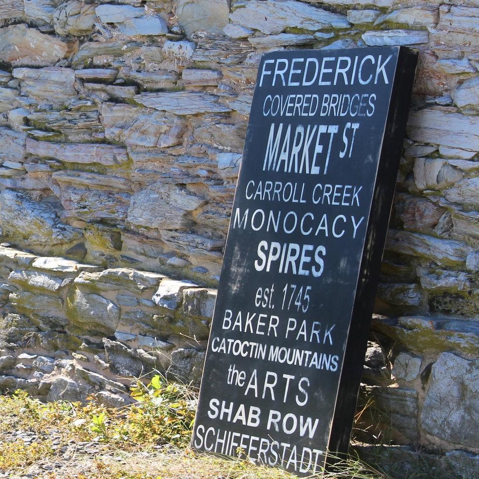 modern farmhouse signs frederick md