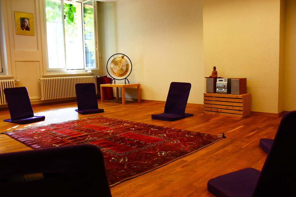 The Mantra room welcomes smaller groups, perfect for meditations but also therapy.