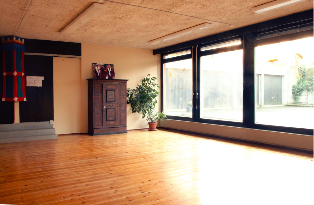 The Yogi Seminar room with its warm atmosphere and light welcomes yoga classes and team retreats.