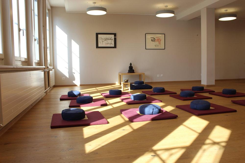 Der Seminarraum Lotus ist bestens geeignet für Introspektion und tiefergehende Interaktionen