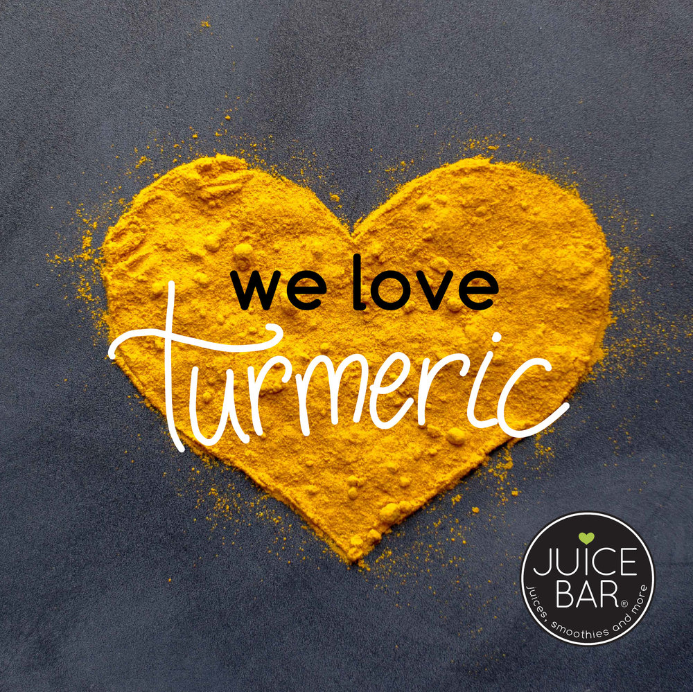 We love turmeric!