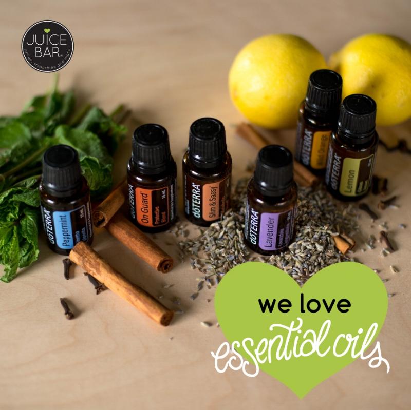 We love essential oils!