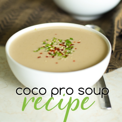 Thai Coconut Soup Recipe from I Love Juice Bar