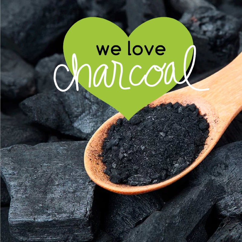 We love charcoal!