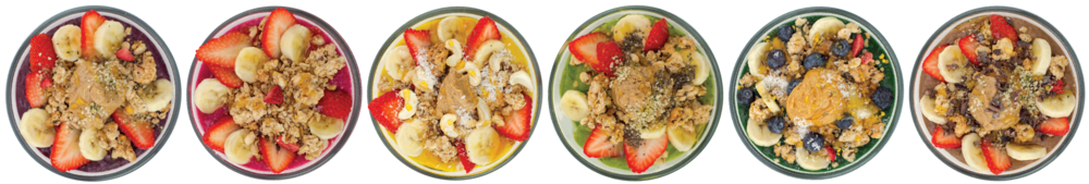 I Love Juice Bar's new Smoothie Bowls