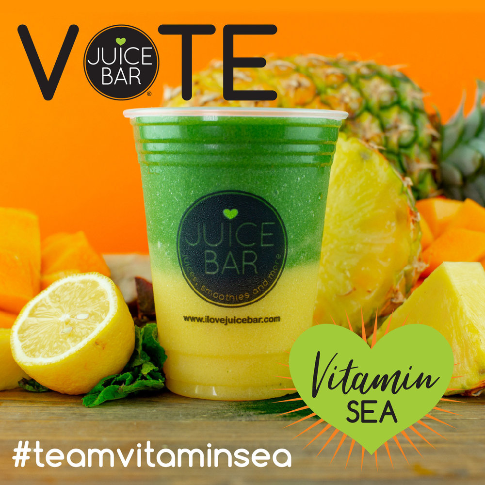 Vote for Team Vitamin Sea