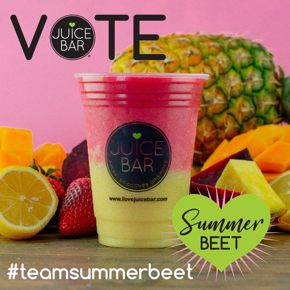 Vote for Team Summer Beet