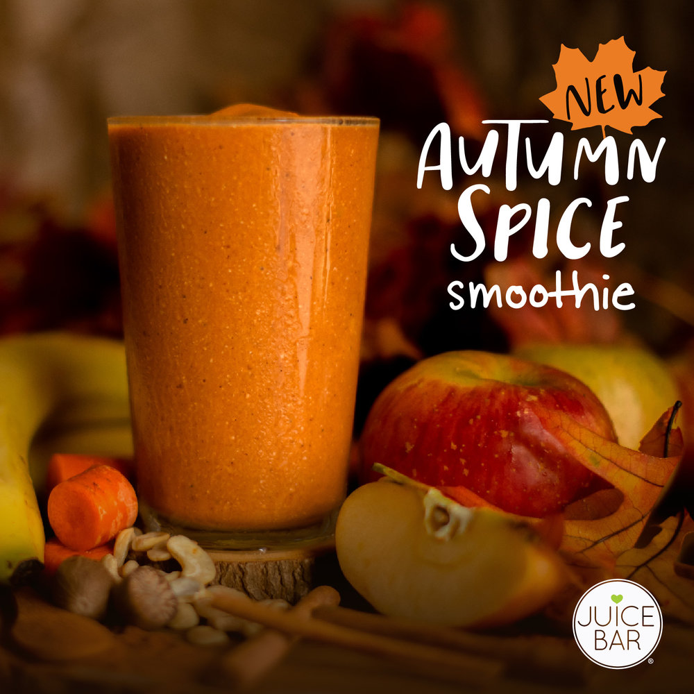 Autumn Spice Smoothie | I Love Juice Bar