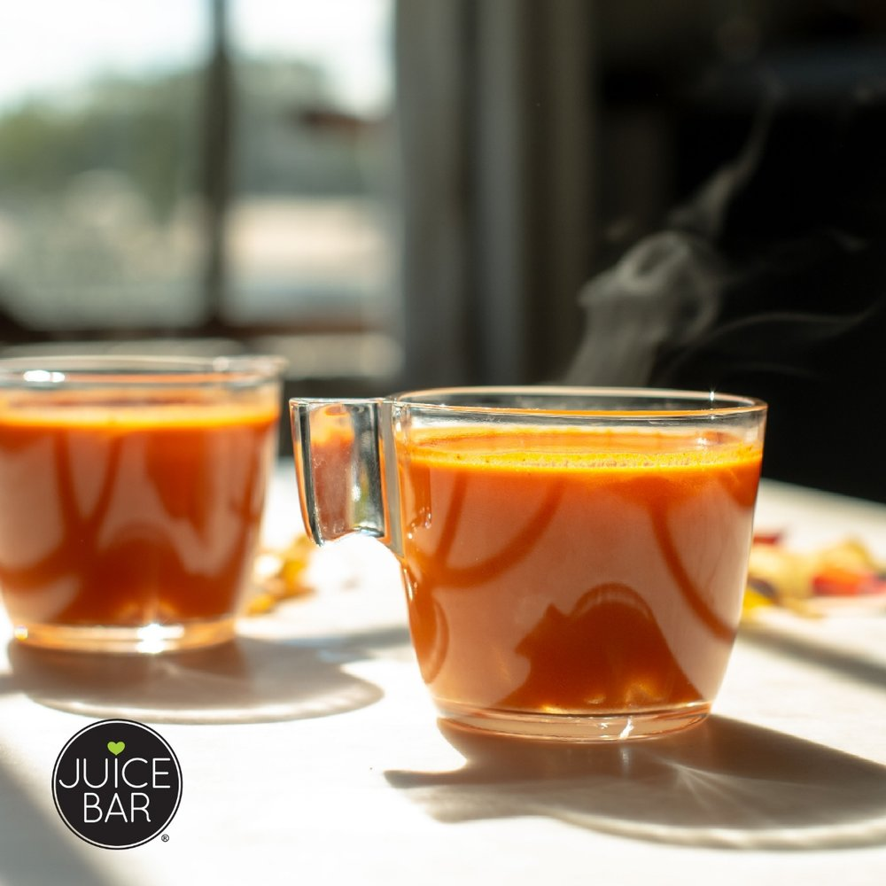 Ginger Spice Warmer Recipe | I Love Juice Bar