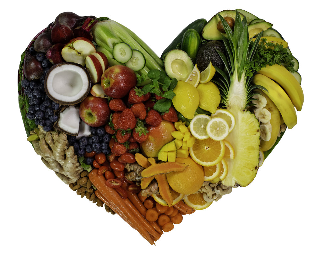 I Love Juice Bar Fruits and Veggies