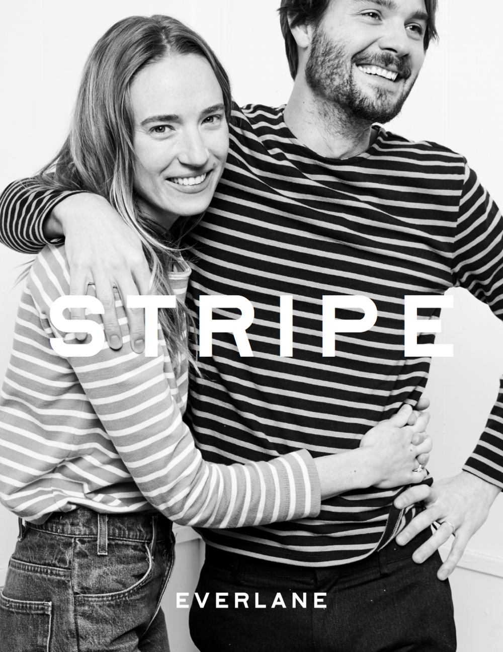 Hopped back to NYC a few weeks ago to shoot this exciting new campaign for Everlane. Launching 2/8! everlane: Started with the boys. Stolen by the girls. Just in time for Valentine's: Breton Stripes for all. Arrives February 8th.