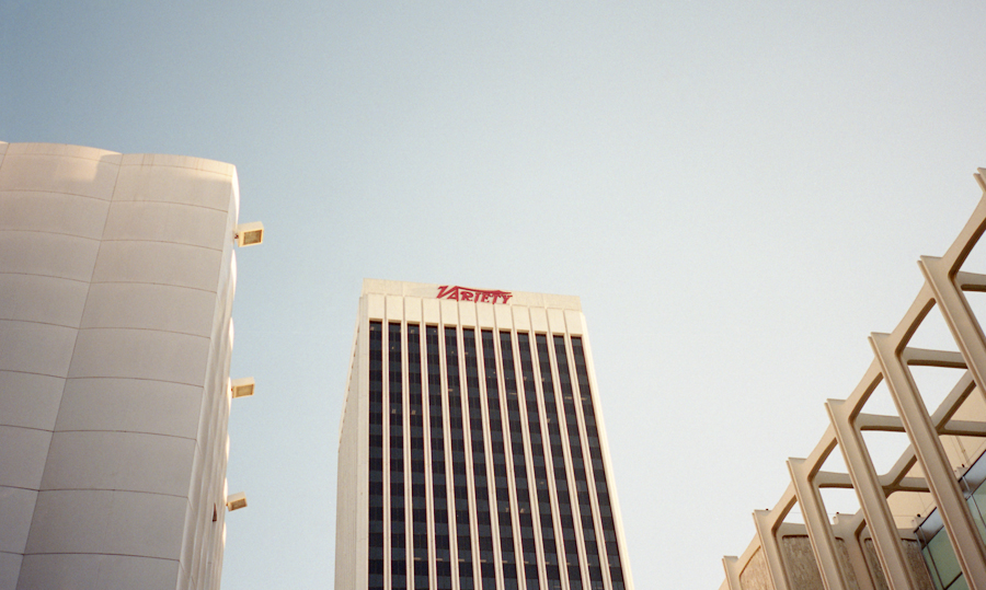 I like this building, my view from LACMA, August 2013