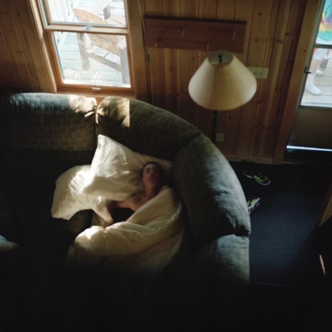 Alex Sleeping Outtake, August 2012