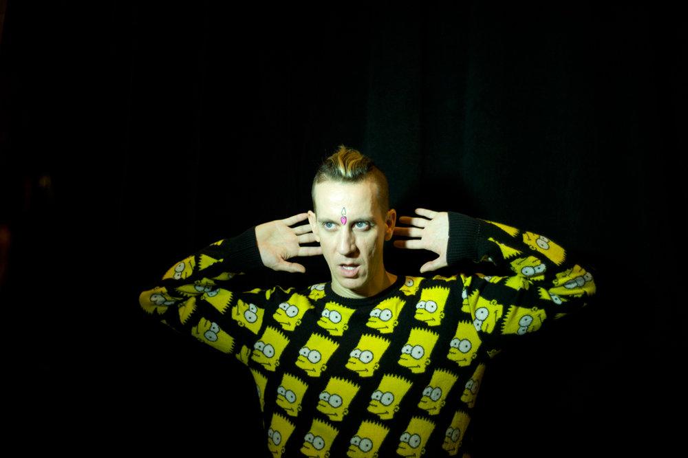 milkstudios: The Man Himself Photo by: Amanda Hakan