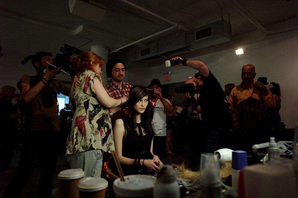 milkstudios: Fashion Week can be a bit…overwhelming Photo by: Amanda Hakan