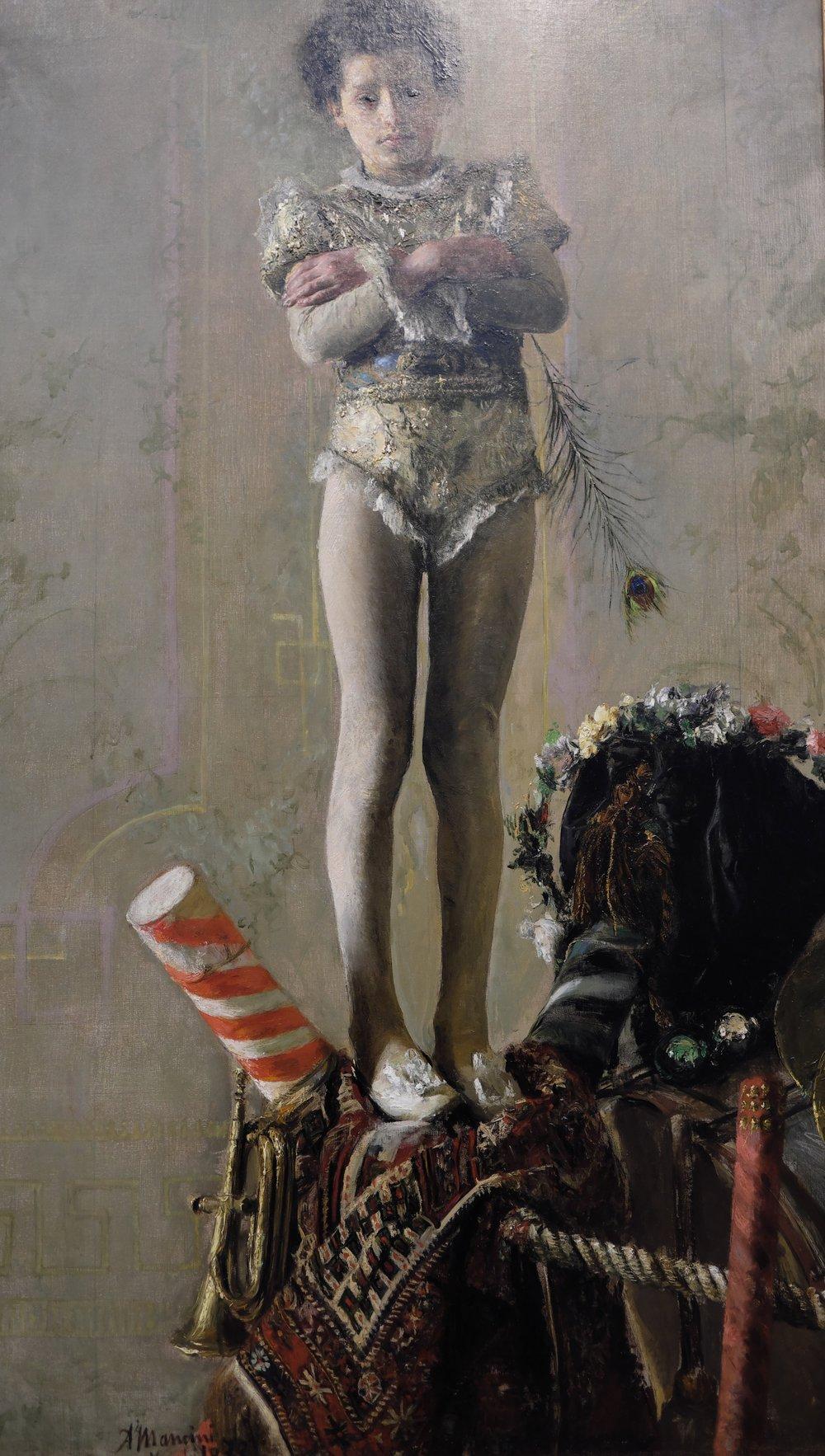 Il Saltimbanco, Antonio Mancini, 1879