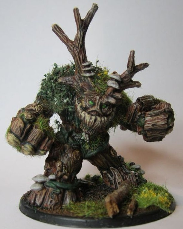 #Miniature of the Week Our #Miniature of the Week Spirit of the Forest by AZAZEL.  We love this miniature! So talented!
