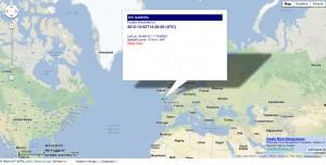 Rio Madeira position 2012-12-04