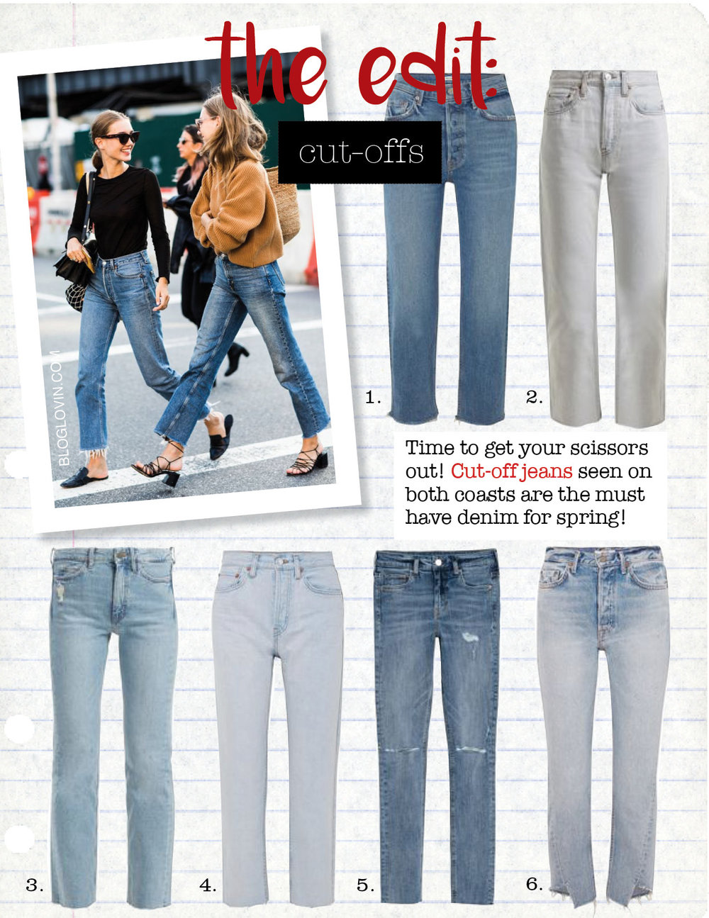1. grlfrnd helena cropped distressed mid-rise straight-leg jeans, $230,  net-a-porter.com  2. re/done originals stove pipe high-rise straight-leg jeans, $348,  matchesfashion.com  3. m.i.h. jeans daily high-rise slim-leg jeans, $277,  matchesfashion.com  4. re/done high-rise stove pipe straight-leg jeans, $277,  net-a-porter.com  5. h&m skinny regular jeans, $29,  hm.com  6. grlfrnd carmen frayed mid-rise straight-leg jeans, $210,  net-a-porter.com