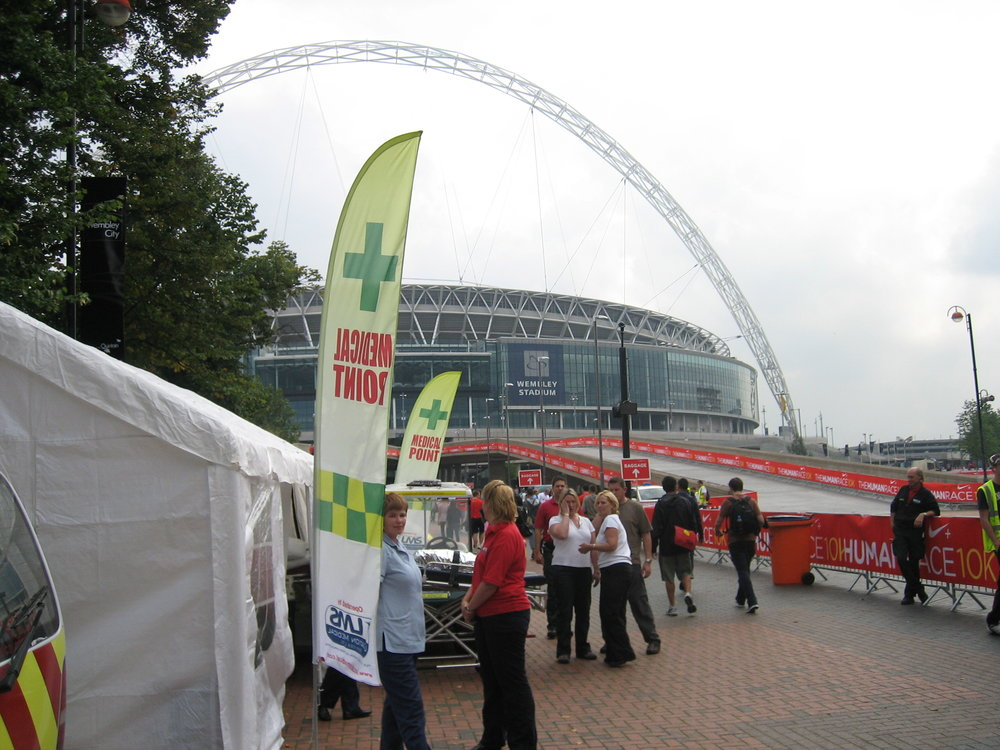 Field Hospital Wembley Stadium