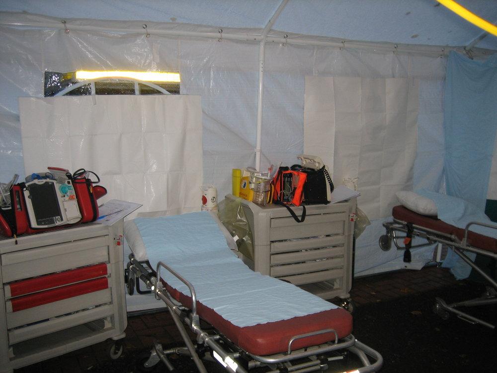 Field Hospital Bay