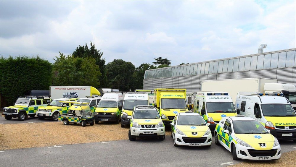 LMS Ambulances, 4x4 and support vehicles