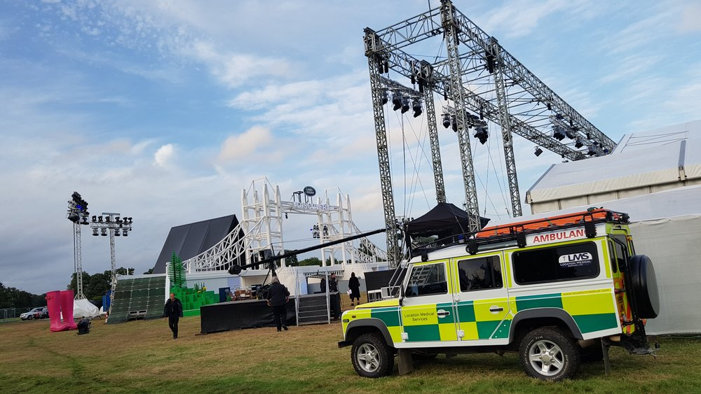 Landrover Discover Launch Event 4x4 Medical Cover