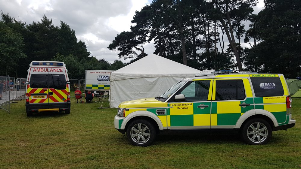Festival Field Hospital & Ambulances