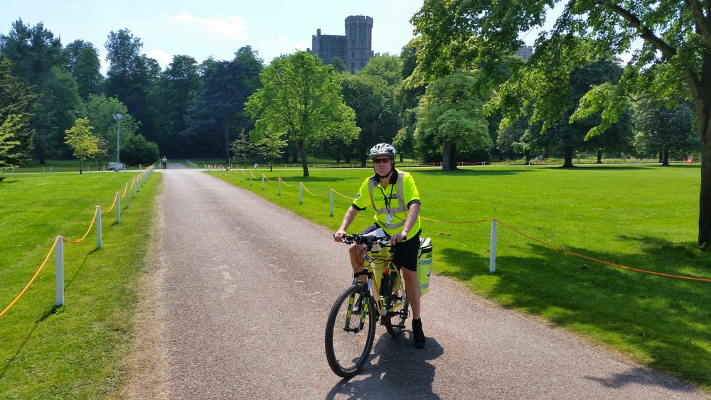 Cycle Responder Paramedic - Private Ground of Windsor Castle