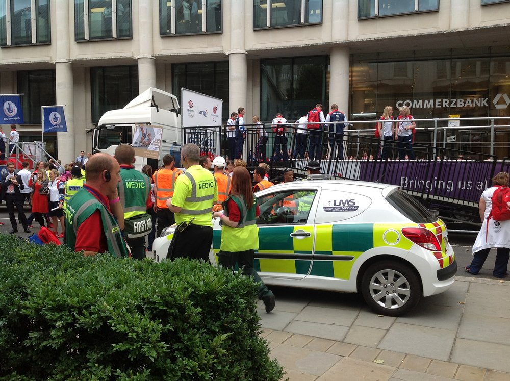 Support Unit at a London event