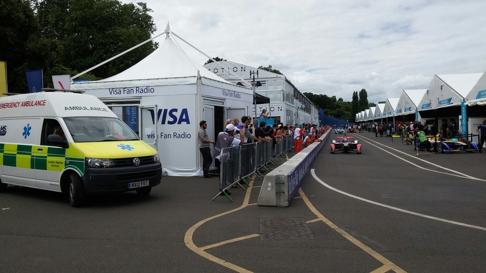 Formula E GP London Medical Cover