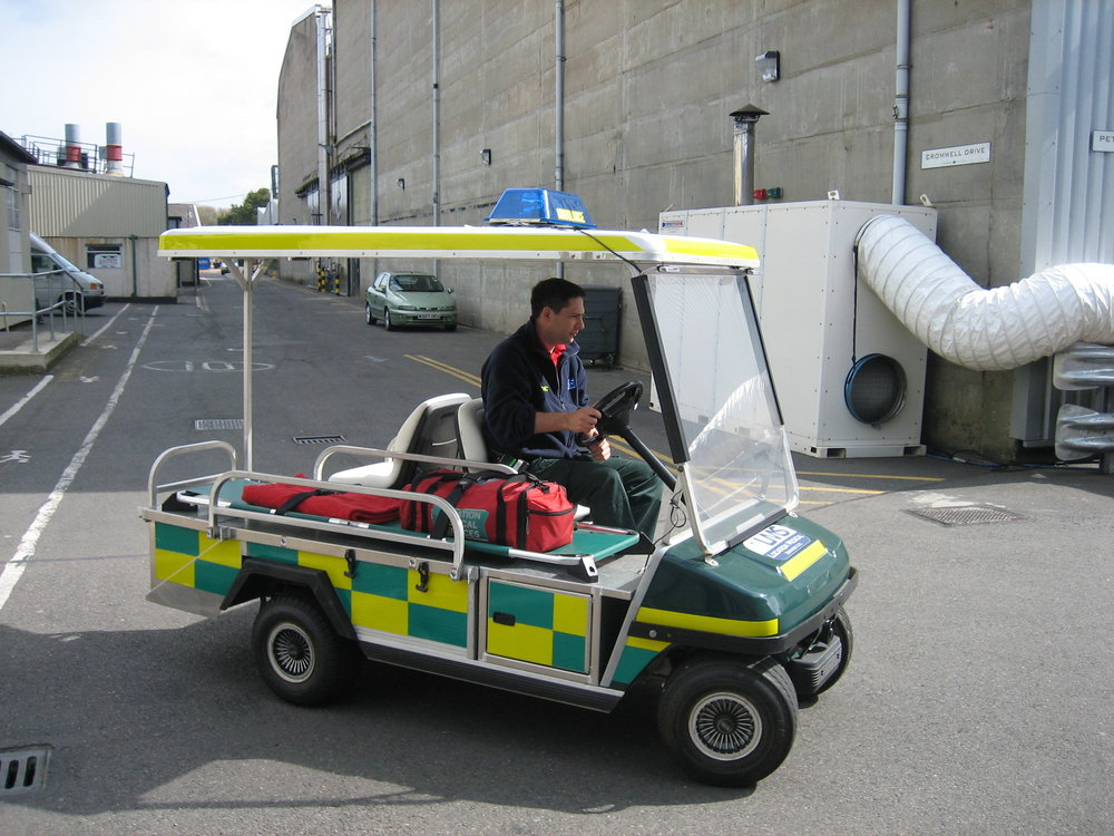 Golf Buggy Ambulance Responder