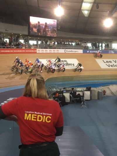Amazing athletes supported by amazing medics