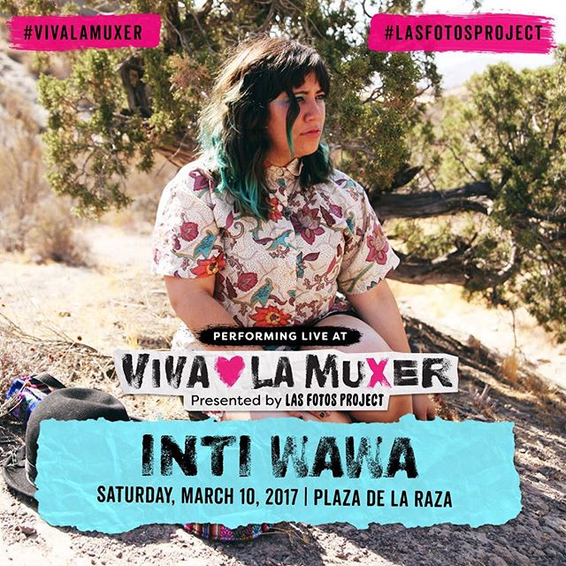 Next show March 10th for @lasfotosproject 's #vivalamuxer !! New song comin' to ya so get Jose tix ASAP!!!
