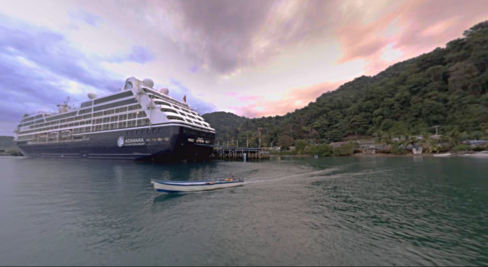 Azamara-360-VR-Production