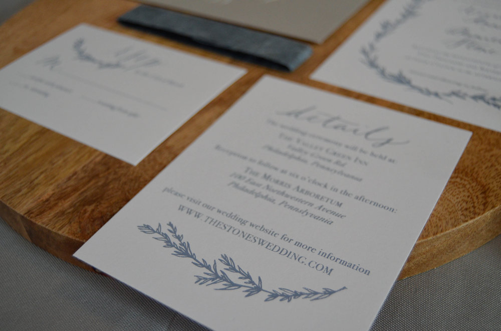 Lake Oswego Wedding Invitations