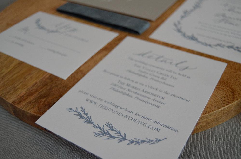 Portland Calligraphy Wedding