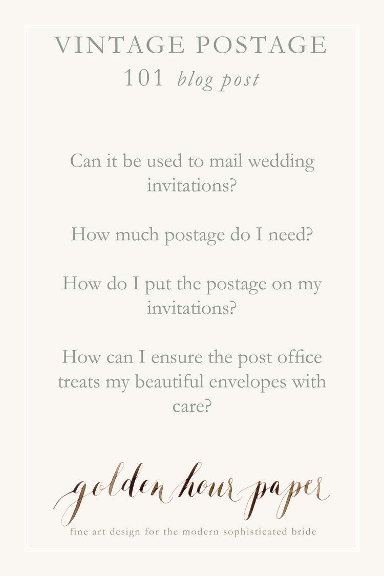 Golden Hour Paper Calligraphy and Custom Wedding Invitation Design ...