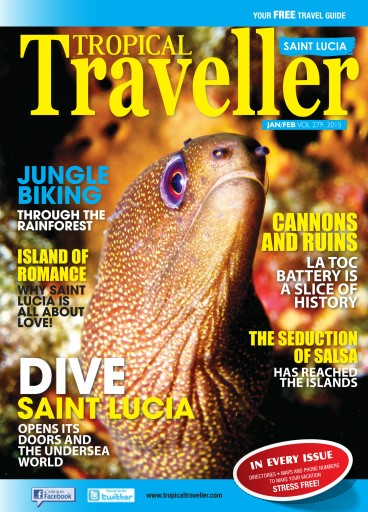 Front Cover Tropical Traveller - Jan/Feb 2015