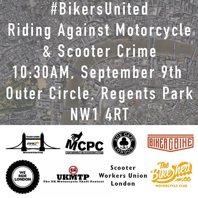 Blog post up covering the #BikersUnited ride tomorrow. http://www.weridelondon.com/blog/2017/7/9/bikersunited9sept #WeRideLondon #BikersUnited #ProtectBikers #MopedCrime